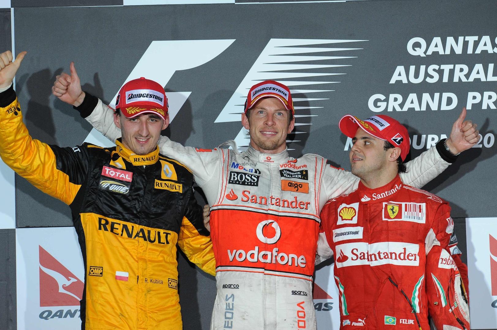 Podio GP Australia