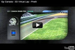 Gp Canada - 3D Virtual Lap - Pirelli