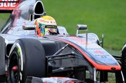Hamilton in pole position - Hamilton