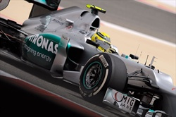 Gp Bahrain - Rosberg