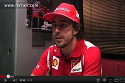 Video - Intervista Alonso