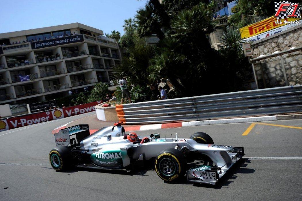 Gp Monaco - Qualifiche - M.Schumacher