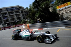 Gp Monaco - Qualifiche - M.Schumacher