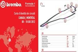 Gp Canada - ID Card - Guida al circuito - Brembo ID Card Canada