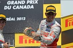 Hamilton conquista il settimo podio in sette Gp - Gp Canada - Lewis Hamilton