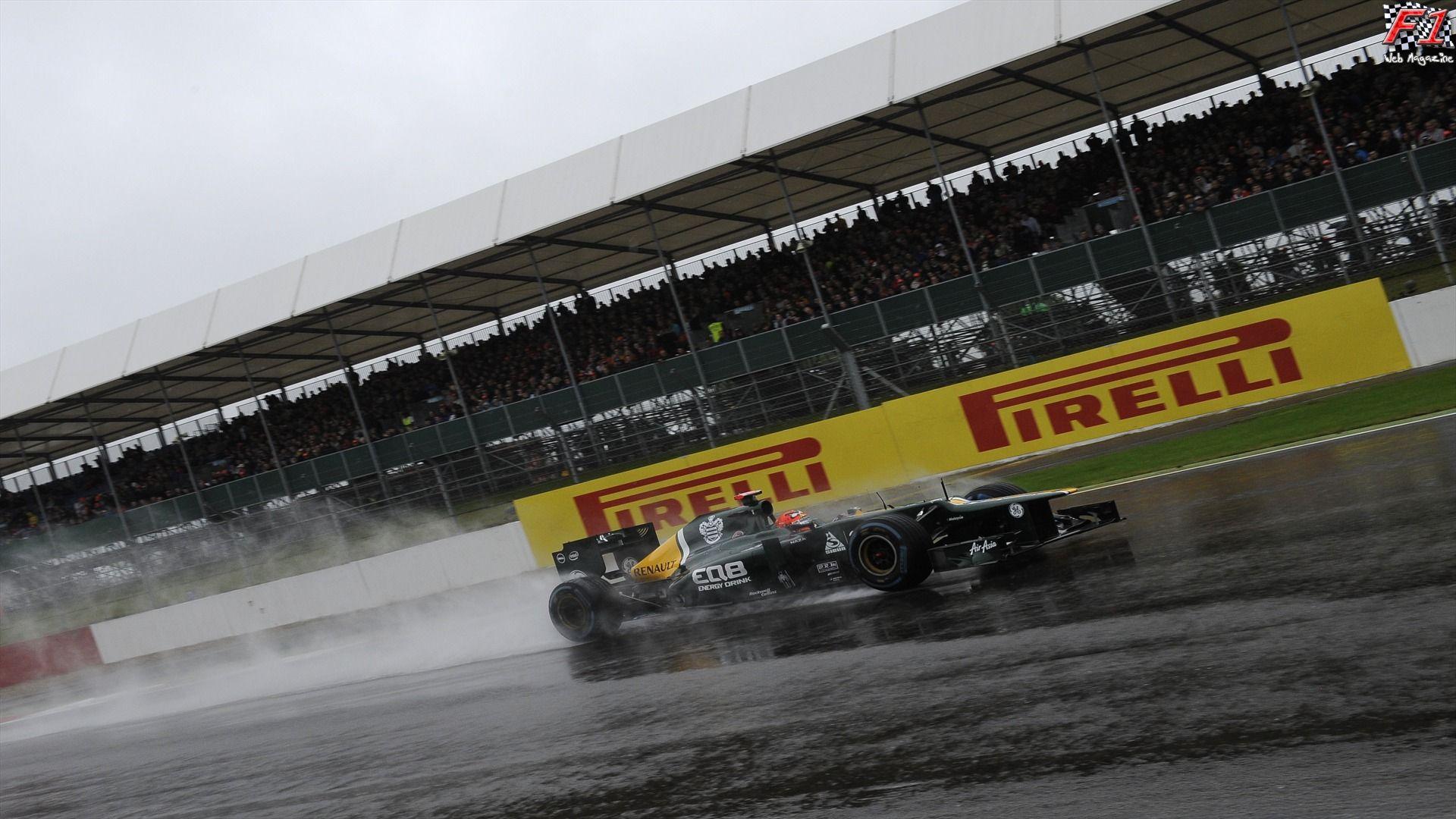 Silverstone - Qualifiche bagnate
