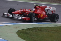 Gp Germania, Alonso in pole position - Alonso