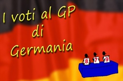 I voti del gp di Germania
