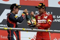 Gp Germania - Gara - Podio - Alonso Vettel