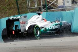 Schumacher: 'Incidente strano' - Incidente Schumacher Gp Ungheria