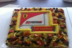 Torta di compleanno Ferrari