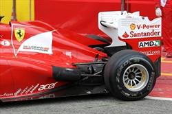Tecnica: la Ferrari e il doppio DRS. - Test Ferrari