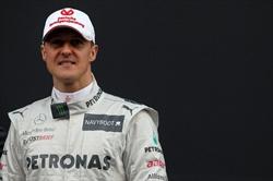 A Schumacher la cittadinanza onoraria di Spa - Schumacher 2012