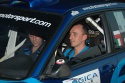 Robert Kubica di nuovo in pista