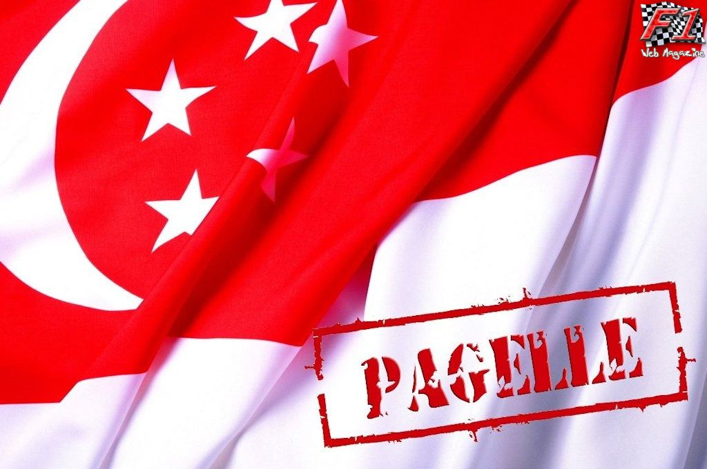 Pagelle Gp Singapore