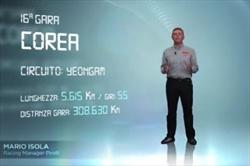 Gp Corea del Sud - 3D Virtual Lap