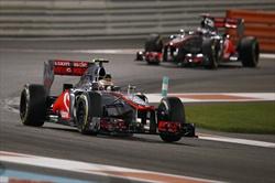 Abu Dhabi, Hamilton in pole position - Hamilton