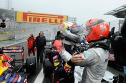 Gp Brasile - Gara - Gp Brasile - Vettel campione del mondio