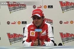 Conferenza stampa di Felipe Massa