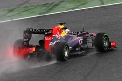 Vettel in pole, poi le Ferrari