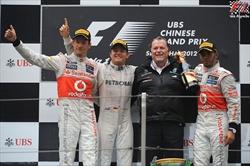 Gp Cina - Podio 2012