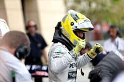 Gp Bahrain - Rosberg in pole