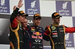 Gp Bahrain - Gara - Podio