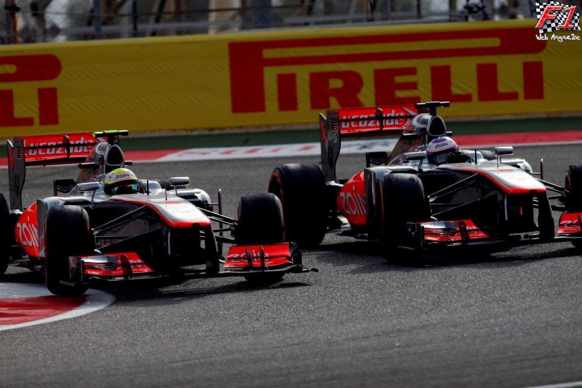 Button e Perez lotta senza regole