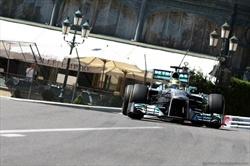 Mercedes GP monaco2013