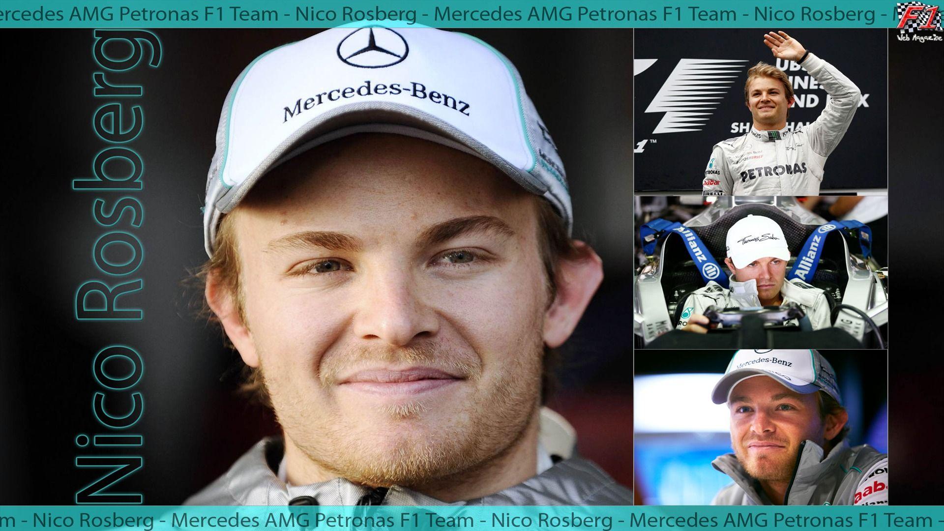 Nico Rosberg - Mercedes AMG Petronas F1 Team -