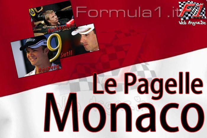 Le pagelle di F1 WM - Monaco