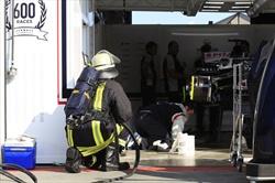 Germania 2013 - A fuoco il KERS della Williams di Maldonado
