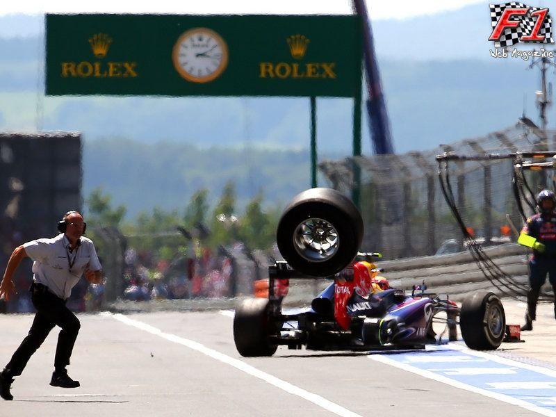 La ruota volante di Webber