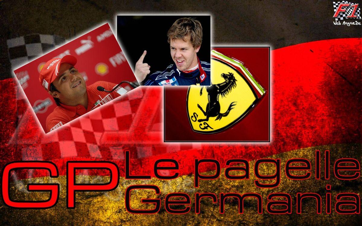 Le pagelle GP Germania
