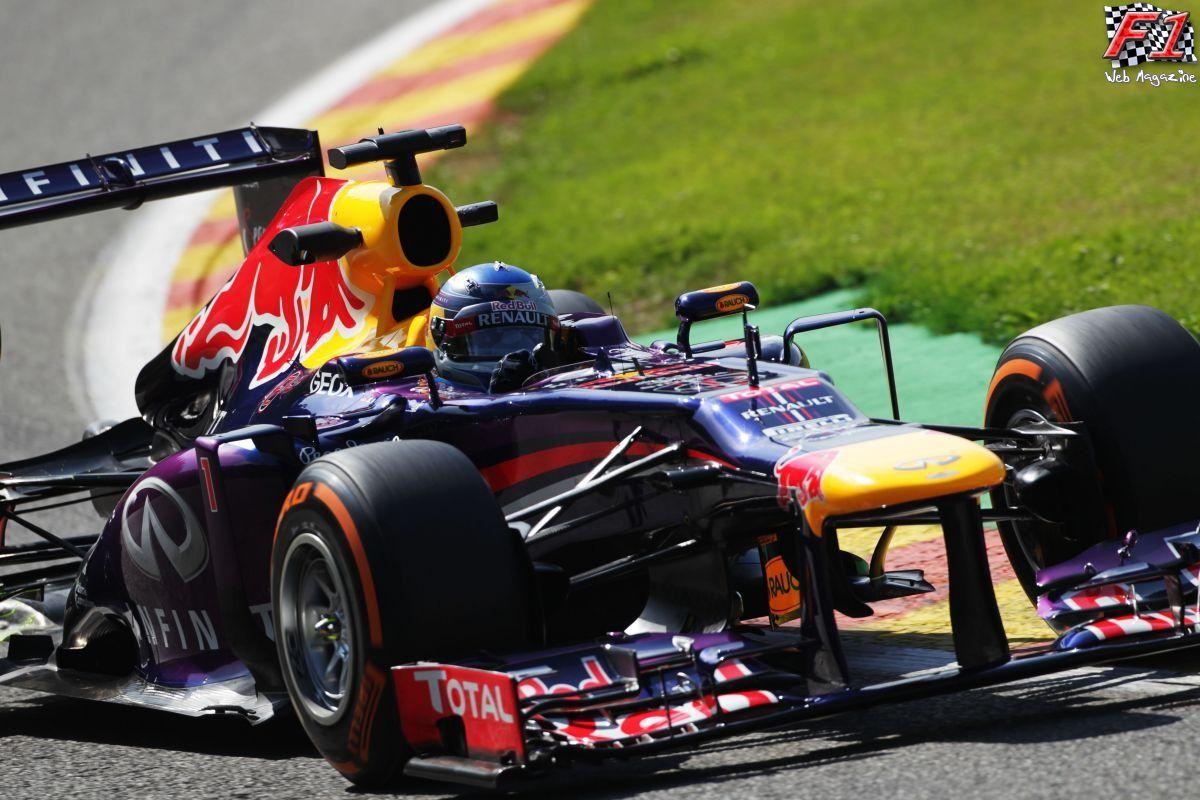 Vettel in testa anche nelle libere del Sabato a Spa