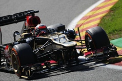 Kimi Raikkonen - Prove libere Gp Belgio 2013