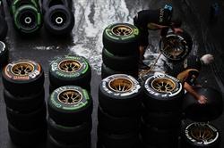 Qualifiche Gp Belgio - Box Lotus