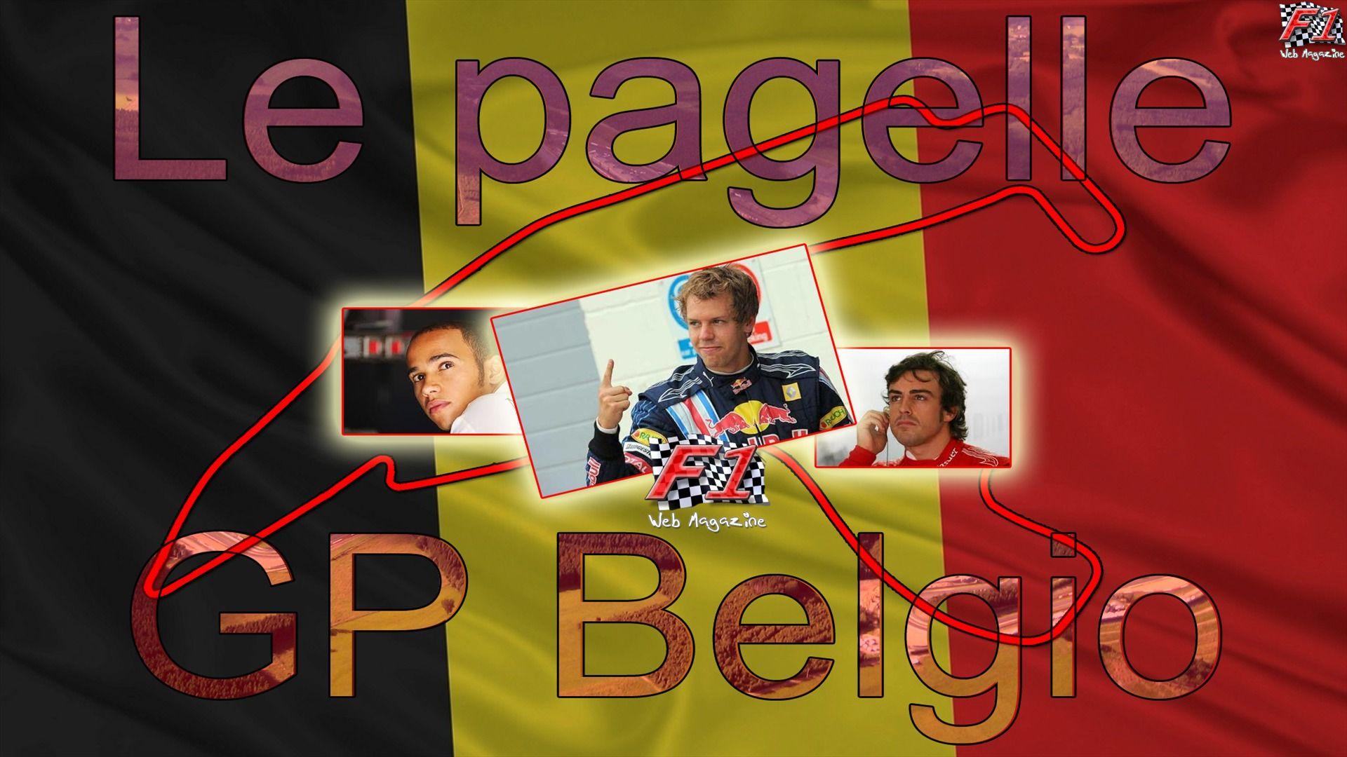 Le pagelle di F1WM - Belgio
