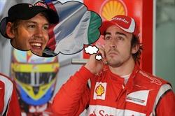 Alonso vettel monza