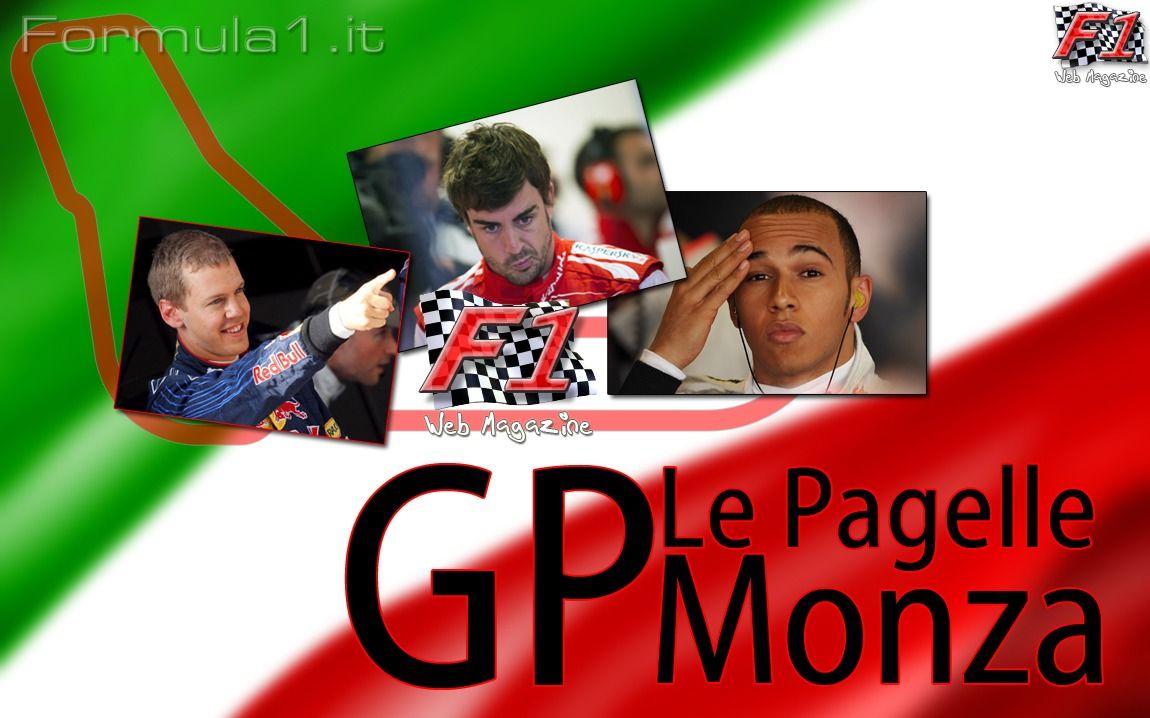 Le pagelle GP Monza 2013