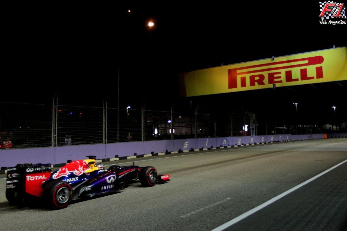 Gp Singapore - Libere - Domina Vettel
