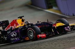 Gp Singapore - Qualifiche - Vettel in pole