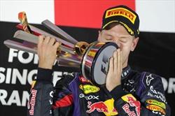 Gp Singapore - Gara - Vince Vettel