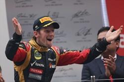 Gp India - Grosjean