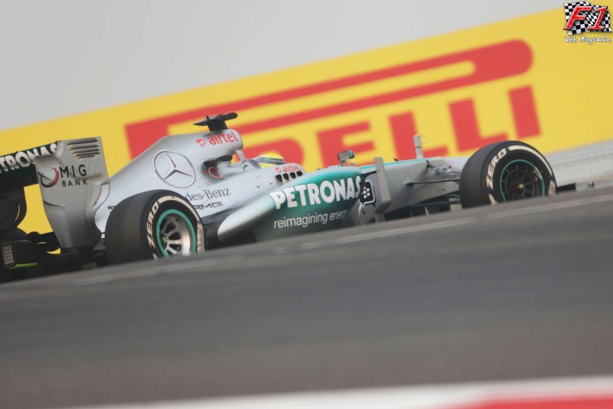 Gp India - Rosberg