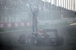 Gp India - Vettel 4 volte campione del mondo