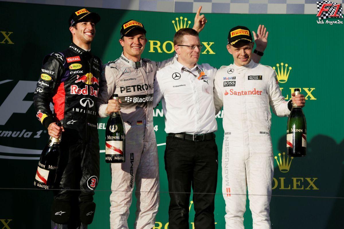Gp Australia 2014 - Gara - Vince Rosberg