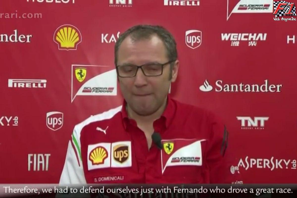 Video Ferrari - Intervista a Domenicali post Gp Malesia