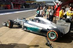 Gp Spagna 2014 - Pole per Hamilton