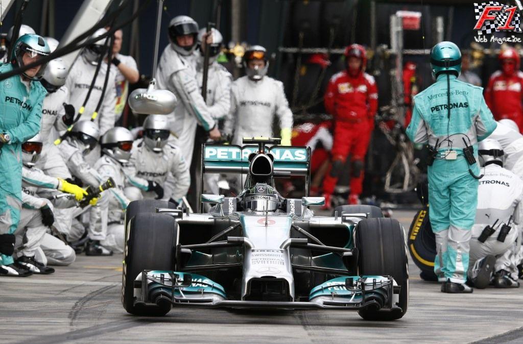 Hamilton ha meritato di arrivare dietro a Rosberg in Austria